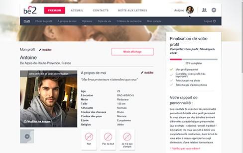 be2 profil