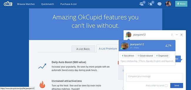chat okcupid